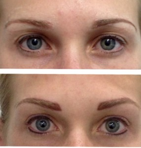 eyeliner and brow tattooing