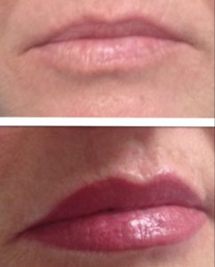 Lip Tattoo, Lipstick and Lip Liner Tattoo for Permanent Lip Colour